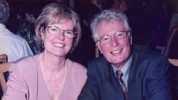 Pauline Buck and her husband Bill