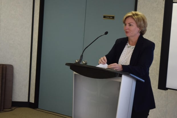 Karen Ludwig, the member of parliament for New Brunswick Southwest