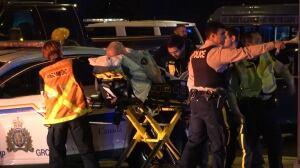 RCMP officer, civilian injured in early morning car crash