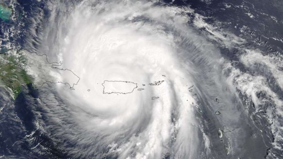 Hurricane Maria on Sept. 20