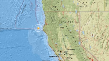 Earthquake off northern California causes brief confusion