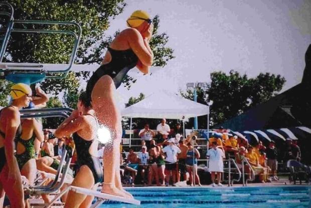 Miranda Biletski swim
