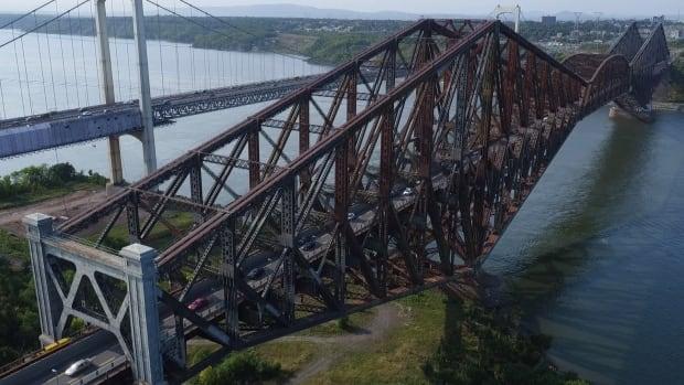 The Quebec City bridge celebrated its 100th anniversary on Sept. 20.