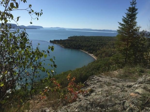 Kama Point overlook