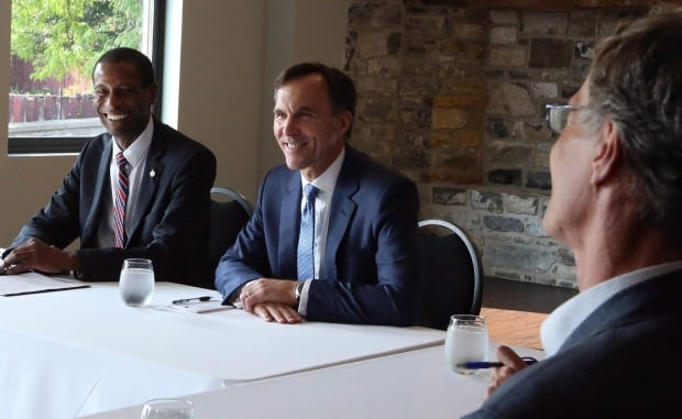 Bill Morneau meeting