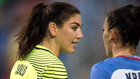 Hope Solo 'moving forward' after reaching settlement with U.S. Soccer