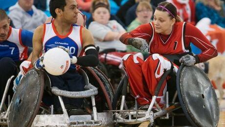 Miranda Biletski wheelchair rugby