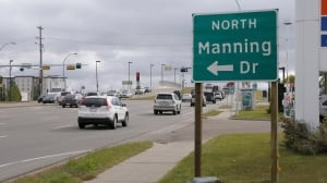 Manning Drive sign