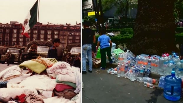 Mexico City earthquakes September 1985 and September 2017
