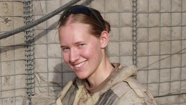 Cpl. Kelly Scanlan served in Afghanistan in 2010.