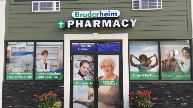 A new pharmacy opened on Bruderheim's main street on July 1.