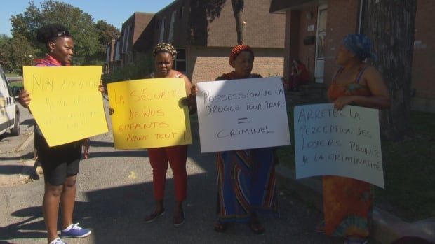 Caldwell Ave. shooting mothers protest Sept. 22, 2017