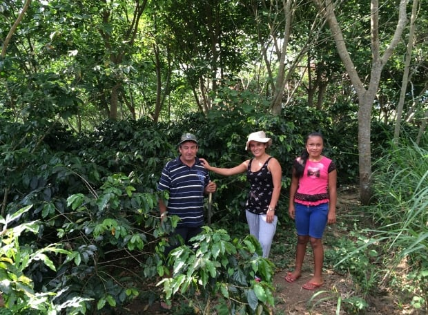 Coffee farmers in Peru
