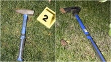 Police-involved shooting weapons axe and hammer