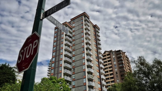The vast majority of purpose-built rental stock in Metro Vancouver, like these apartments in the West End are over 40 years old.