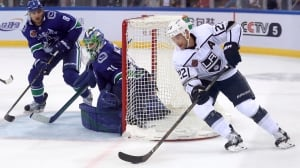 Kings sweep Canucks in China preseason series