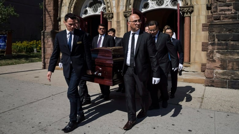 Arnold Chan Funeral