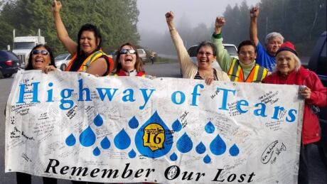 'We know our women are out there': Tamara's Walk on B.C.'s Highway of Tears demands answers