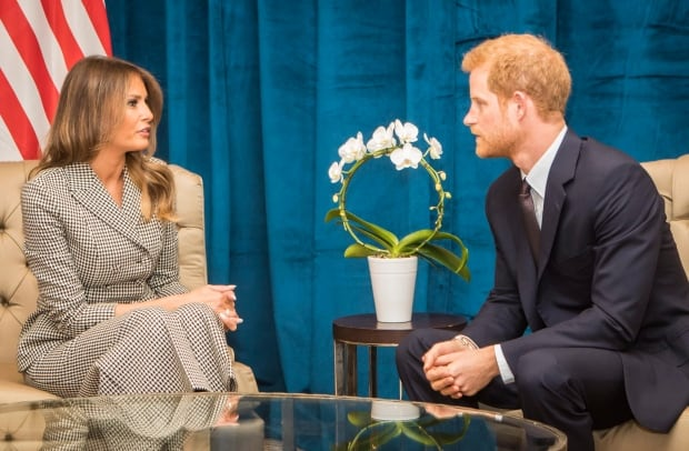 Melania Trump Prince Harry