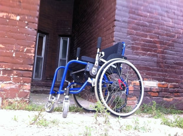 Lawrie Anderson wheelchair