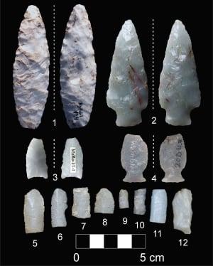 Tertiary Hills Clinker artifacts