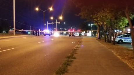 Pedestrian struck by car in critical condition