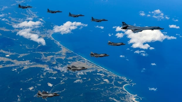U.S. Air Force and Marine Corps/South Korean Air Force mission