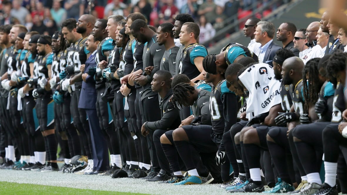 Nfl Protests More Than 200 Players Defy Trump During