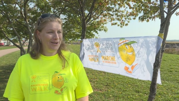 Dieppe's Annie LeBlanc was diagnosed with bladder cancer three years ago, when she was 38.