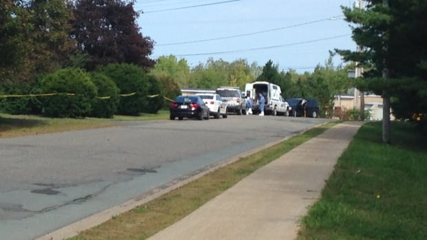 RCMP were at the scene of a suspicious death on Lockhart Drive in New Minas, N.S., on Sunday.