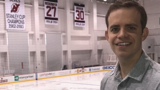 P.E.I.'s Scott Harris spent 10 years in Columbus working for the Blue Jackets and recently signed on to work with the New Jersey Devils.