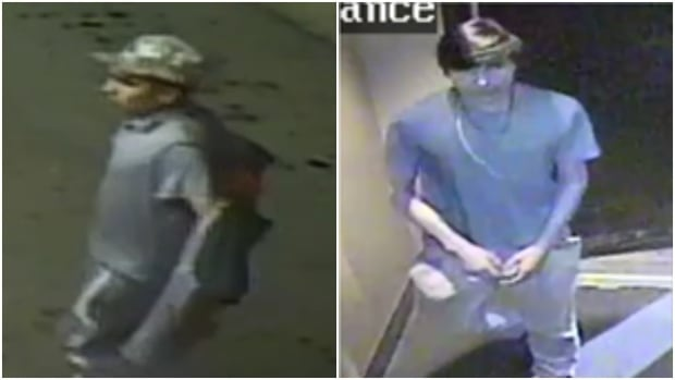 Police are looking for two suspects in an assault on July 29, 2017 that left a man with serious injuries.