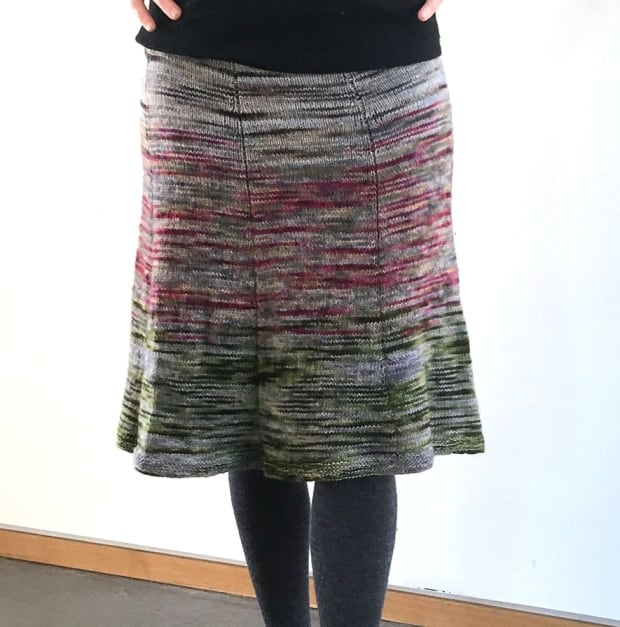 Skirt made with Forillon yarn