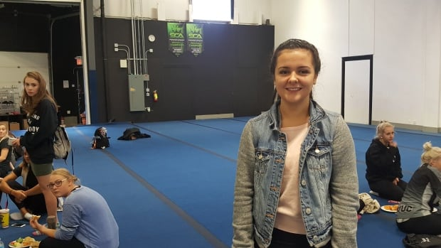 Weyburn-based cheerleading coach Olivia Bocian says a lot of people don't understand what the sport is about.