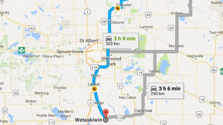 Four charged in 300-km highway pursuit from Lac la Biche to Wetaskiwin