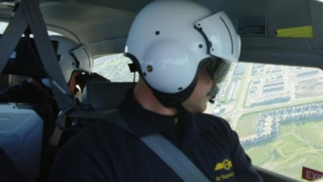 Police use plane to nab suspect who evaded officers on ground