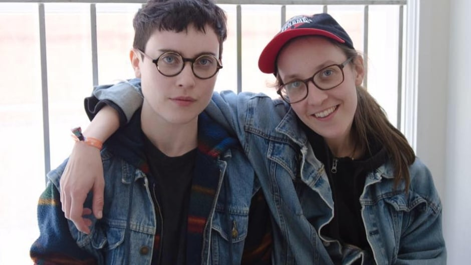 New Brunswick band Partner is comprised of Josée Caron and Lucy Niles.