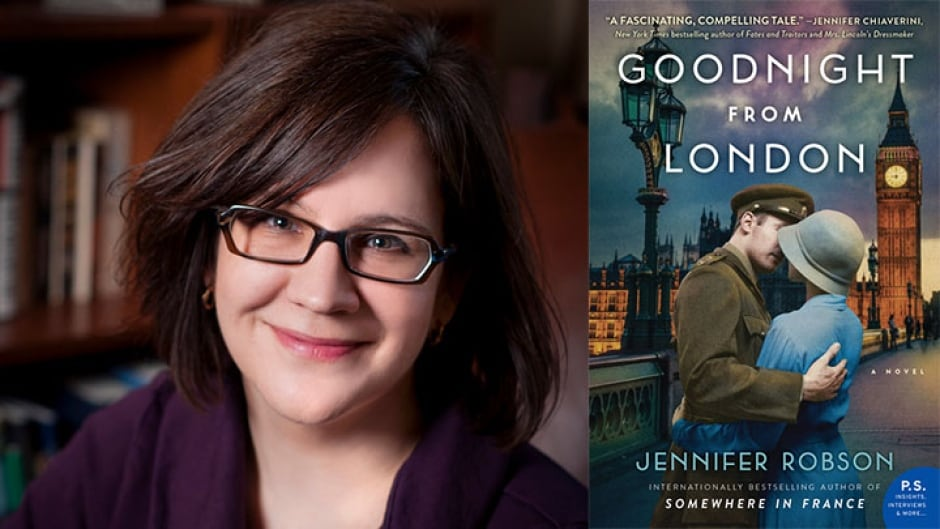 Jennifer Robson, author of the Goodnight From London, takes the Proust Questionnaire.