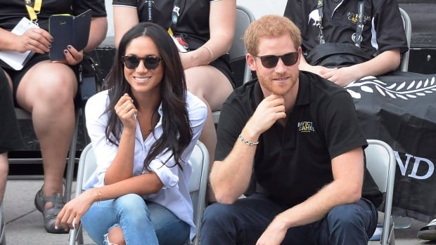 Prince Harry and girlfriend Meghan Markle make their first official public outing as a couple, attending a wheelchair tennis event at the Invictus Games in Toronto on Monday.