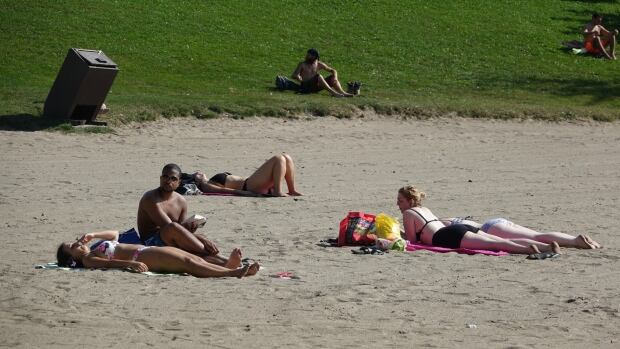 Westboro Beach in Ottawa September 2017