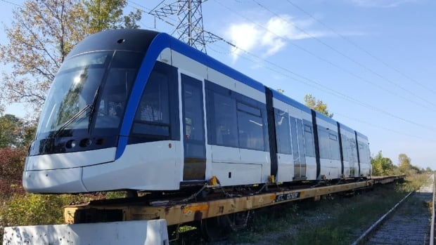 The testing of the LRT vehicle has been postponed, but no new date has been provided.