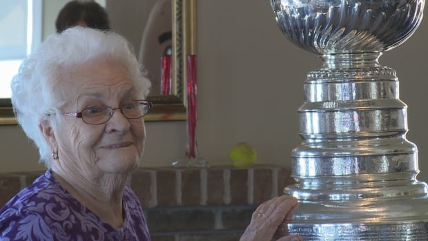 Residents at Lady Slipper Villa in O'Leary found out just a few days ago that the Cup would make a stop at their home.