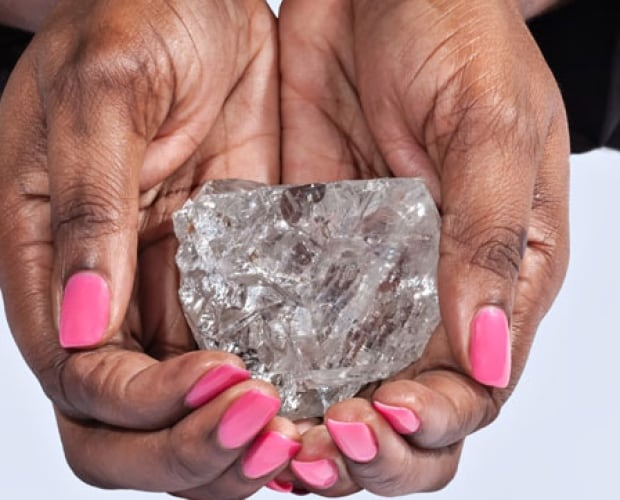 Graff acquires largest diamond discovered in over a century