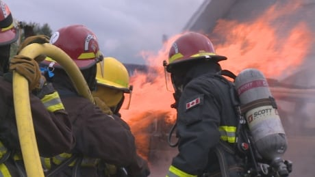 B.C. politicians, government workers face the heat in firefighter simulation
