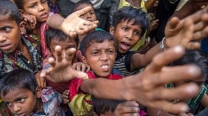Rohingya refugees overwhelming aid agencies