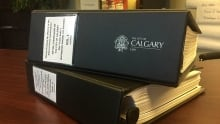 City of Calgary Information and Privacy Commission binder