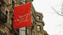 Berklee College of Music exterior sign