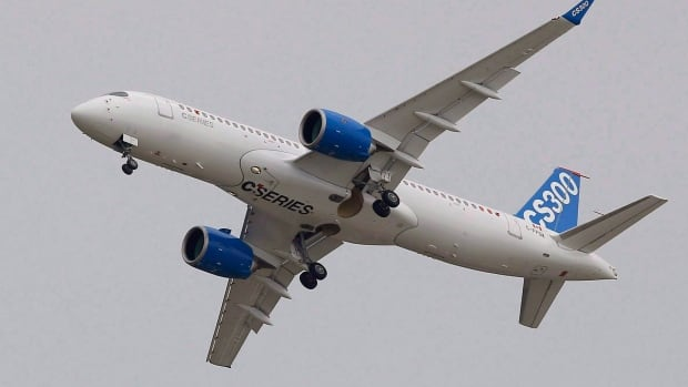 U.S. imposing 220% duty on Bombardier CSeries planes