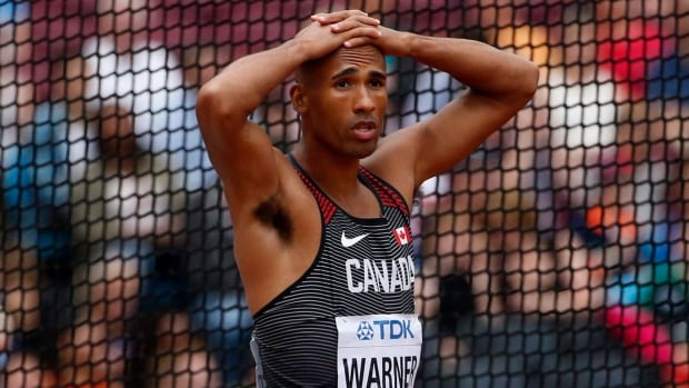 The Norovirus cost Canadian decathlete Damian Warner any shot at a medal at the world track and field championships in London.