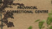 provincial correctional centre sign
